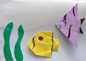 pesci origami